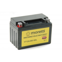 Akumulator AGM (Gel) MT12A-BS 12V 9.5Ah Moretti