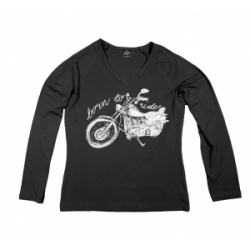 Bluza Damska Longsleeve Born to ride