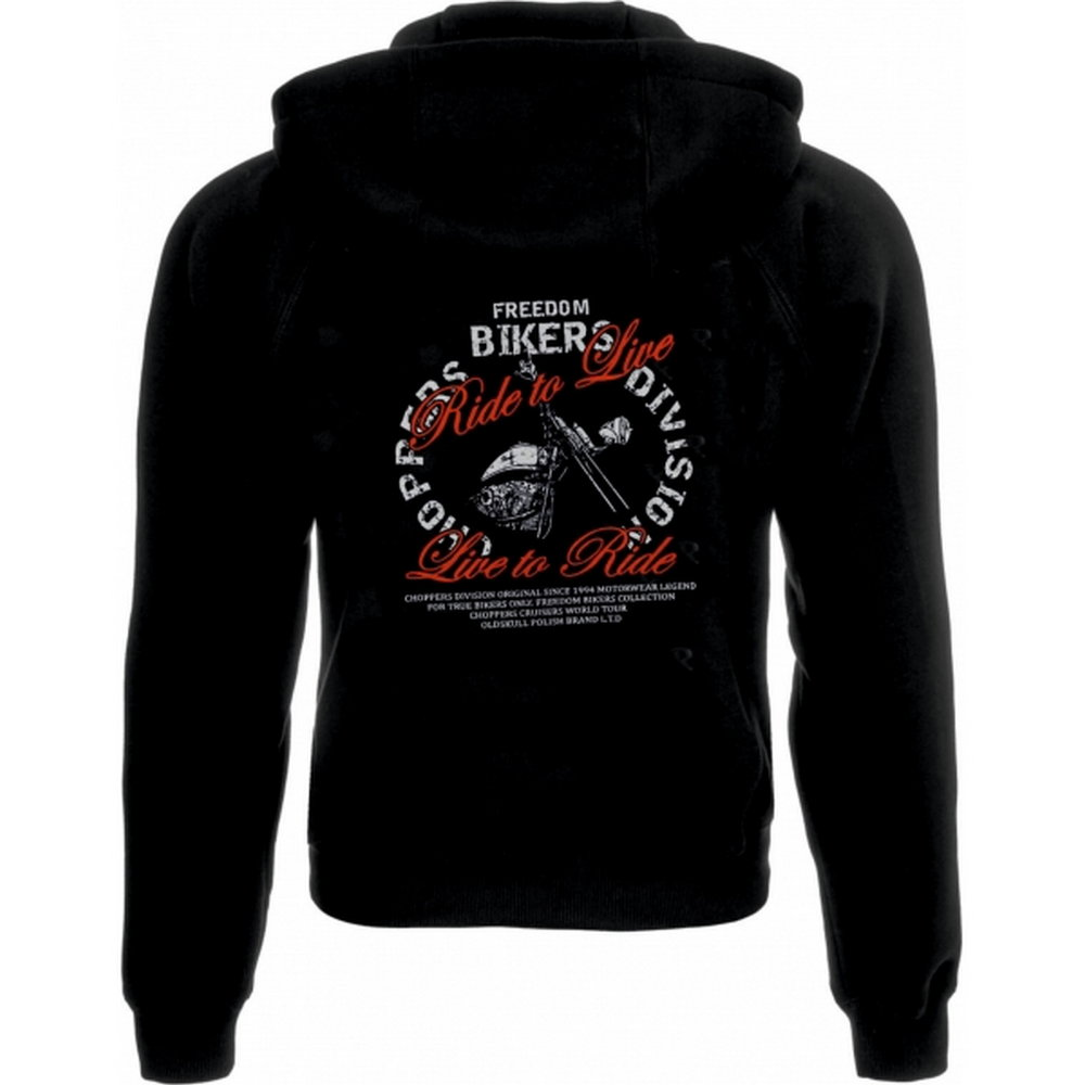 Bluza z kapturem FREEDOM CHOPPER DIVISION