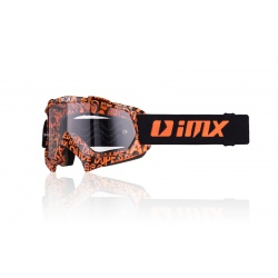 Gogle IMX Mud Graphic orange/black szyba jasna