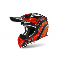 Kask Airoh Aviator ACE Art Orange Gloss Enduro Cross 1040g