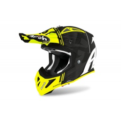 Kask Airoh Aviator ACE Kybon Yellow Matt Enduro Cross 1040g