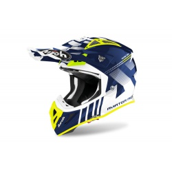 Kask Airoh Aviator ACE Nemesi Blue Gloss Enduro Cross 1040g