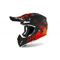 Kask Airoh Aviator ACE Nemesi Orange Matt Enduro Cross 1040g