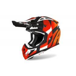 Kask Airoh Aviator ACE Trick Orange Matt Enduro Cross 1040g