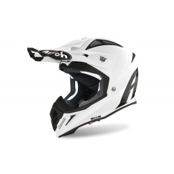 Kask Airoh Aviator ACE White Gloss Enduro Cross 1040g