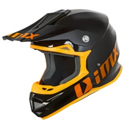 Kask MX/enduro/cross IMX FMX-01 PLAY BlueE/Yellow