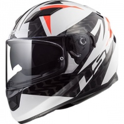 Kask integralny LS2 FF320 STREAM EVO COMMANDER W/B RED