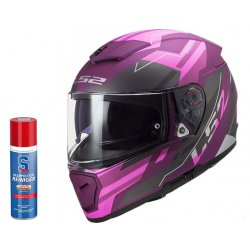 Kask LS2 FF390 Breaker Beta Matt Purple sportowy