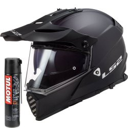 Kask LS2 MX436 Pioneer Evo Matt Black Supermoto