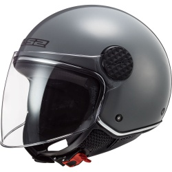 Kask LS2 OF558 Sphere Lux Nardo Grey otwarty