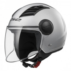 Kask LS2 OF562 Airflow L Solid Silver Jet