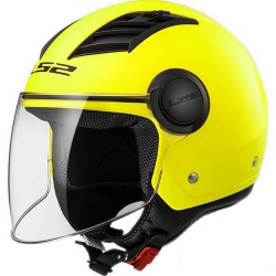 KASK LS2 OF562 AIRFLOW L SOLID MATT H-V YELLOW