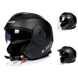 Kask LS2 OF570 Verso Solid Matowy Jet Blenda