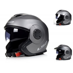Kask LS2 OF570 Verso Solid Matowy Titanium Jet