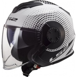 Kask LS2 OF570 Verso Spin White Black