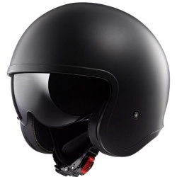 Kask LS2 OF599 Spitfire Solid Matt Black Jet