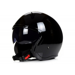 Kask LS2 OF599 Spitfire Solid Black Jet