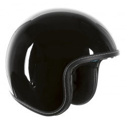 Kask Ozone OP-01 Black Chopper Cruiser Cafe Bobber