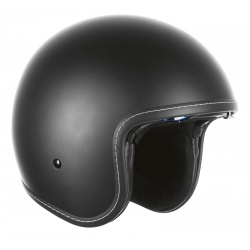 Kask Ozone OP-01 Black Matt Chopper Cruiser Cafe Bobber