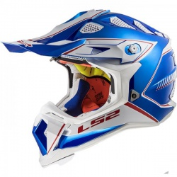 Kask LS2 MX470 Subverter Power Chrome Blue