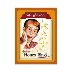 Magnes na lodówkę Mr. Crickles Honey Rings