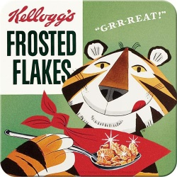 Metalowa podkładka KelloggFrosted Flakes To
