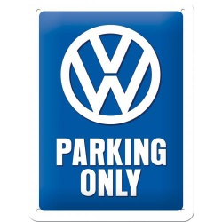 Metalowy Plakat 15 x 20cm VW Parking