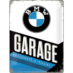 Metalowy Plakat 30 x 40cm BMW - Garage