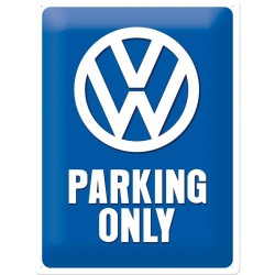 Metalowy Plakat 30 x 40cm VW Parking Only