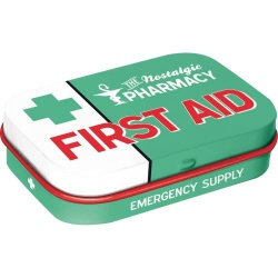 Pudełko z cukierkami - Mint Box First Aid Green