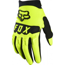 Rękawice FOX Dirtpaw Junior Yellow